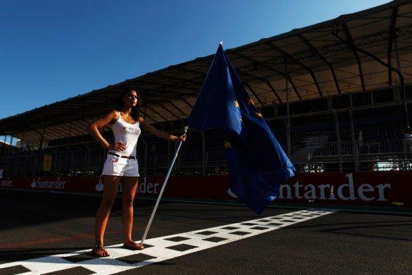 Grid Girls Formula 1 2012
