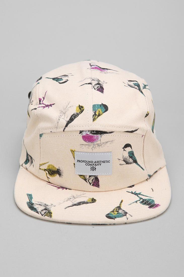 1699f6f9b3b Profound Aesthetic Birds 5-Panel Hat  urbanoutfitters