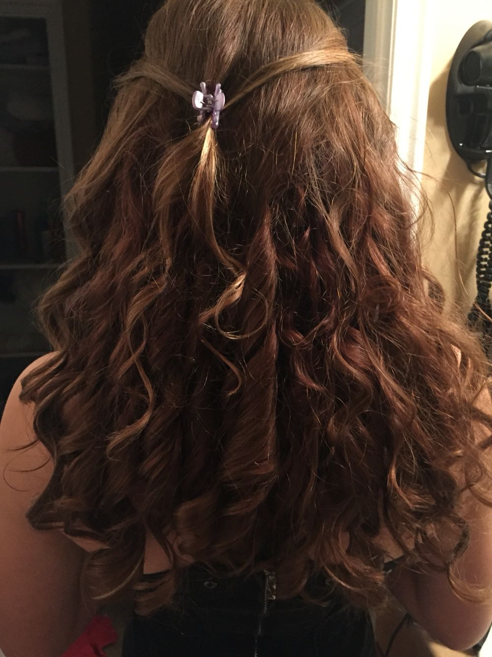Curled my daughters hair