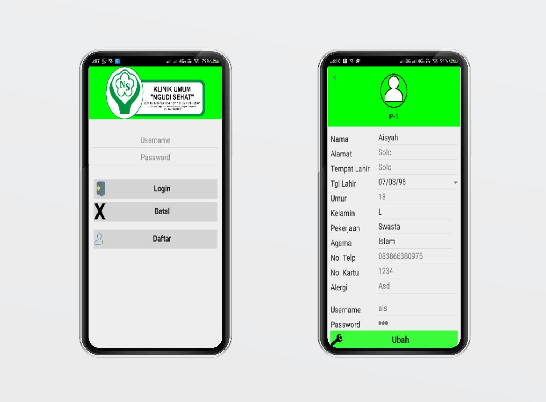 Aplikasi Sistem Klinik Mobile Jaringan Komputer Aplikasi Aplikasi Web