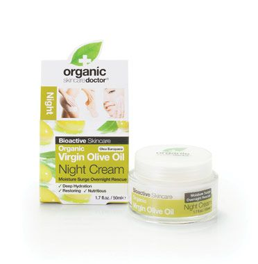Shop Organic Doctor Virgin Olive Oil Night Cream At Discount Prices From Vitamin World Organic Doctor Night Creams Paraben Free Products