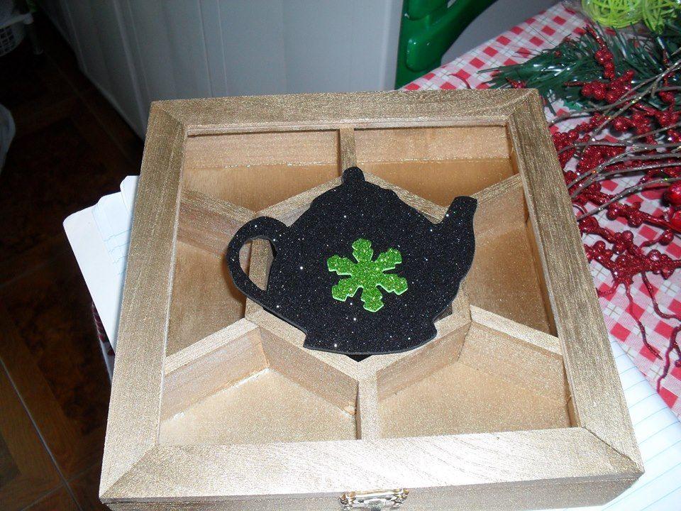caixa para chá