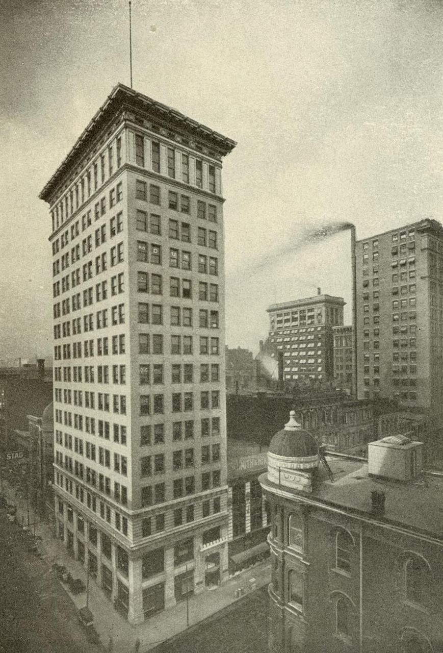 Ingalls building cincinatti oh built 1903 first for Diy reinforced concrete