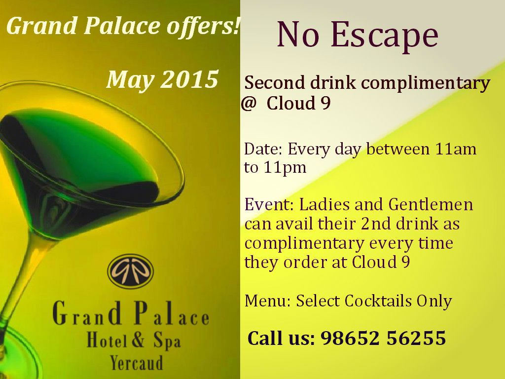Grand #Palace #Hotel and #Spa #Yercaud Exciting Offers!!!