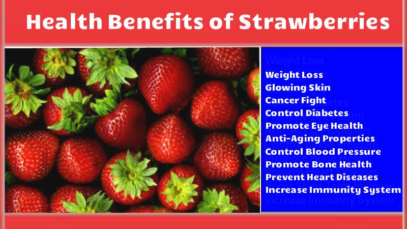 Health Benefits of Daily Strawberry Consumption ...