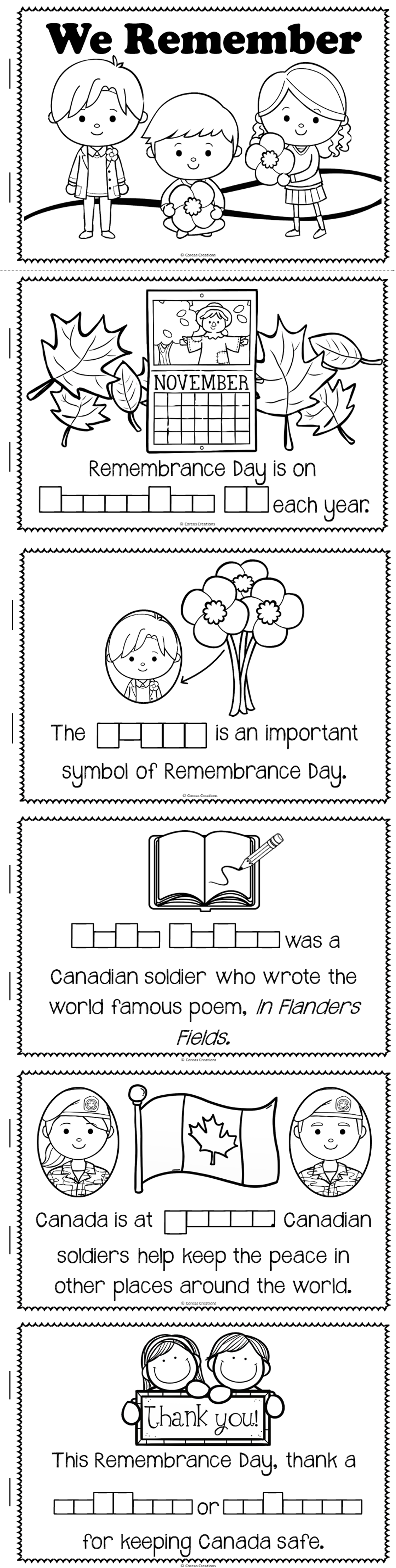 Remembrance Day Canada Crafts Pinterest Teacher Social