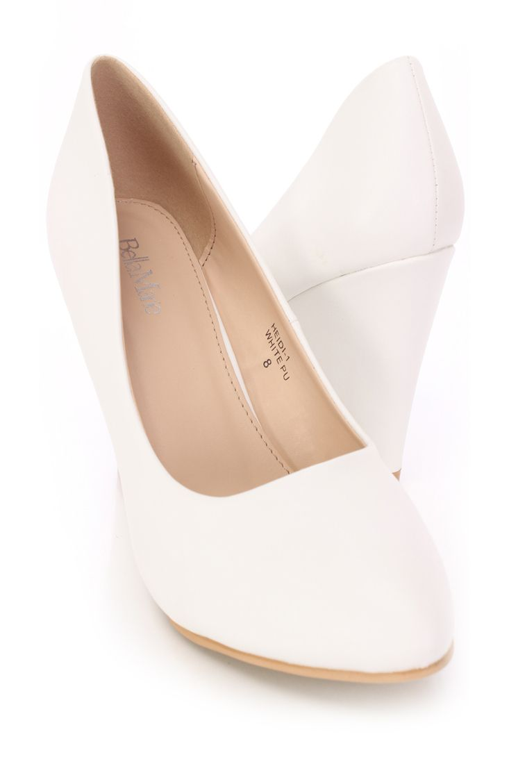 Closed toe wedges, Bridal shoes