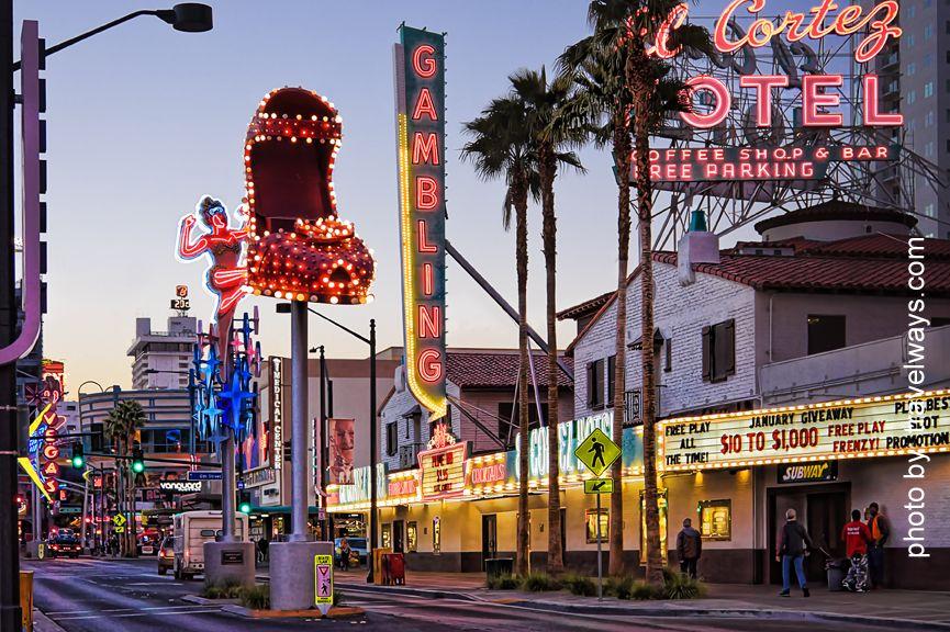 Classic Symbols Of The Downtown Las Vegas Hometown Pinterest