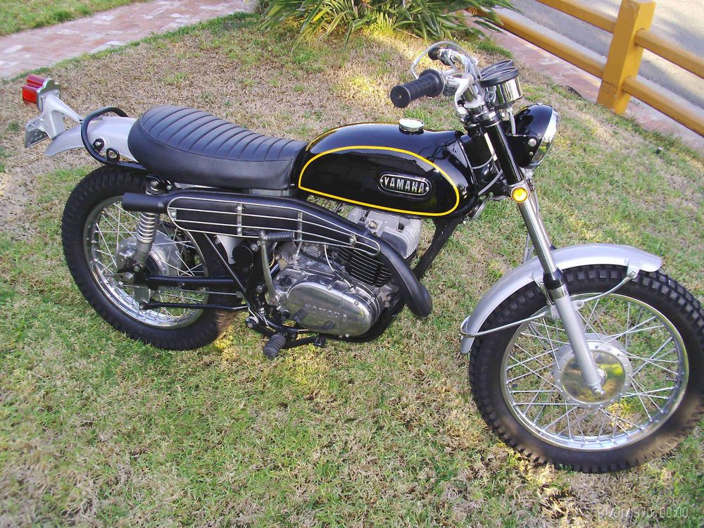 1970 Yamaha 360 Enduro Yamaha Moto Bike Motorcycle