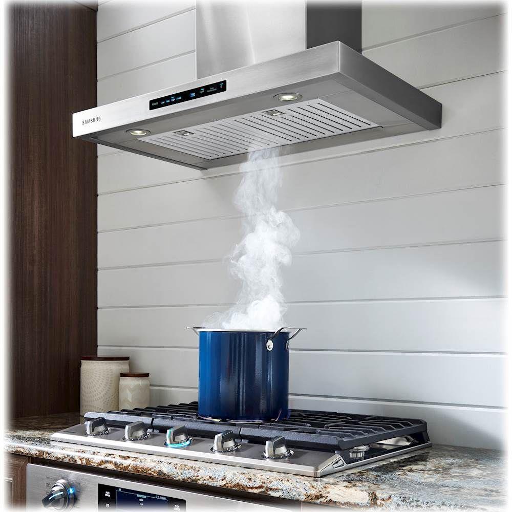 Samsung 30 Convertible Range Hood With Wifi Stainless Steel Nk30k7000ws A2 Best Buy In 2021 Range Hood Kitchen Vent Hood Stainless Range Hood