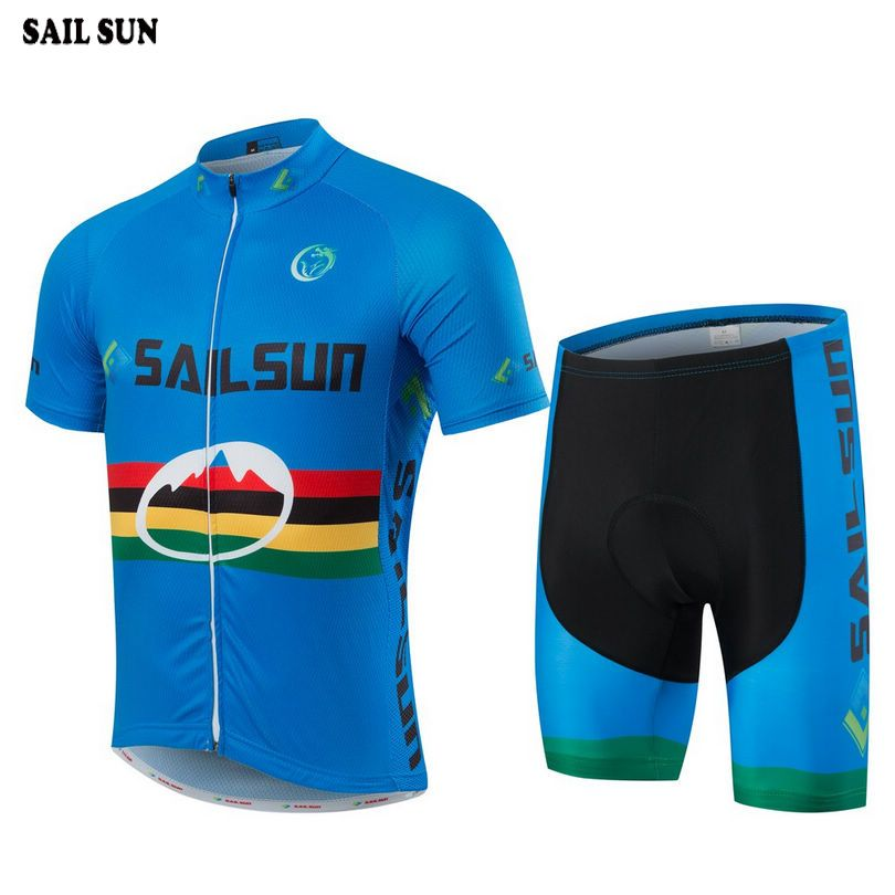 SAIL SUN Men Team Ropa Ciclismo Riding Outfits Wear Cycling Jersey Bike  Short Sleeve Tops Breathable 8e38be02d