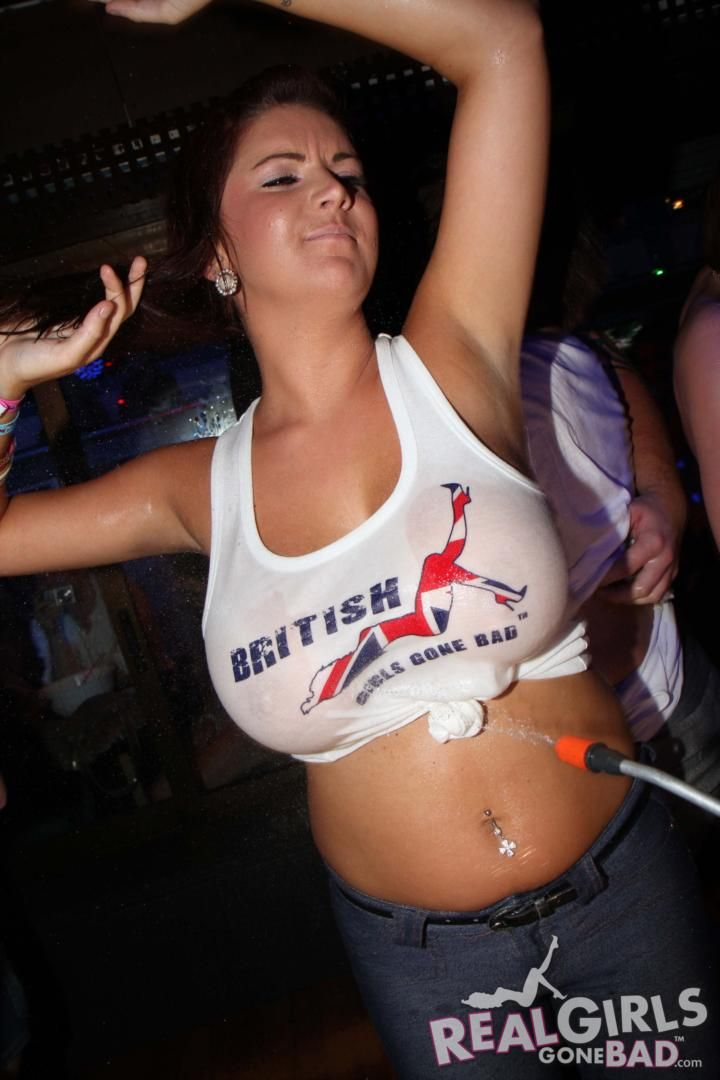 Women Busty british blonde