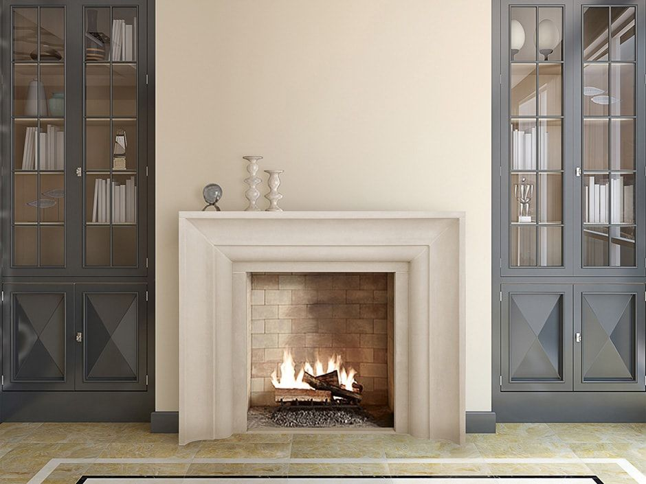 by surround classic mantle fireplace cast more ii stone on fairview pin slate de vinci