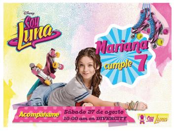 Cumpleaños Con Soy Luna Invitaciones De Soy Luna Soy Luna