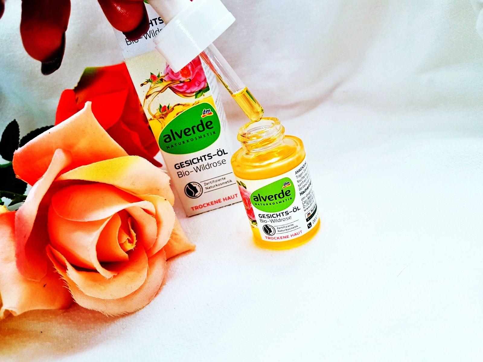 Gesichts-Öl Bio-Wildrose von Alverde