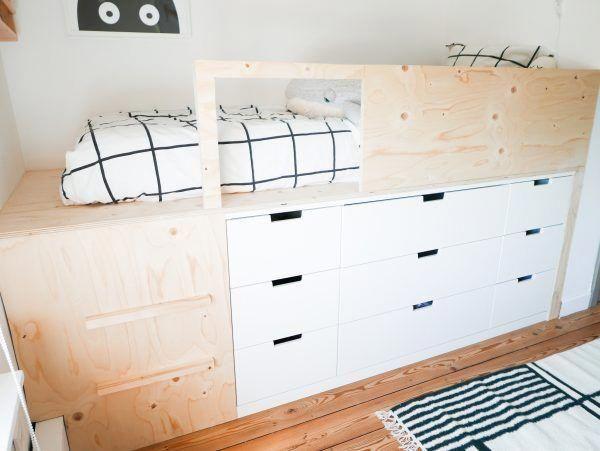 Photo of Slaapkamer make over en DIY halfhoogslaper – Ikea Nordli hack – Mix it Make …