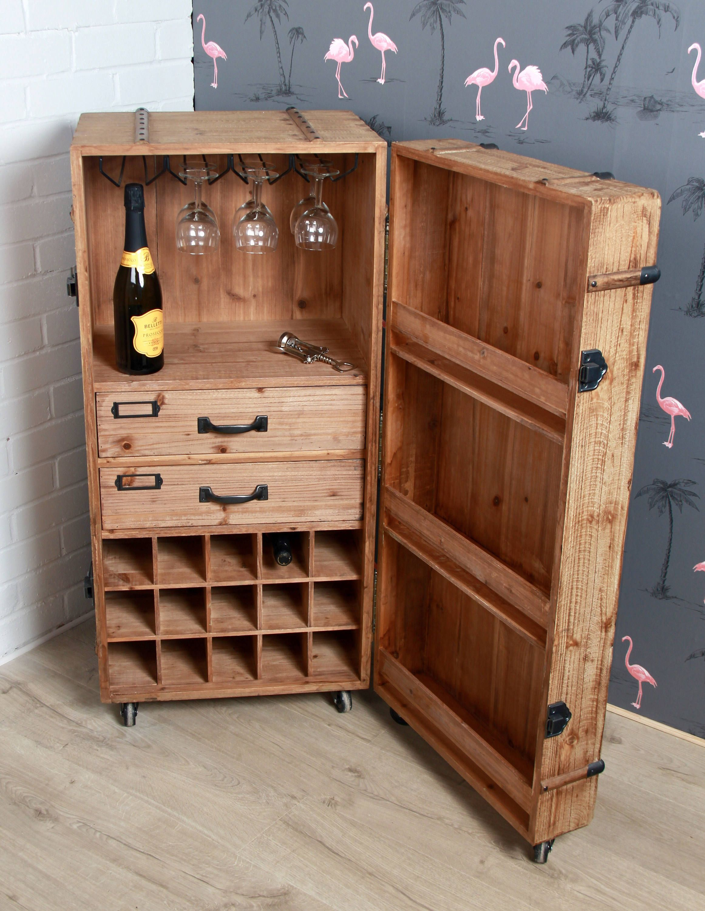 Wine Storage Trunk, Drinks Cabinet By Cogsmithandco On Etsy, Wine, Storage,  Quirky