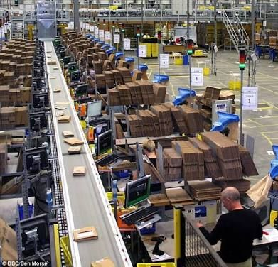 Image Result For Amazon Packing Station Warehouse Layout