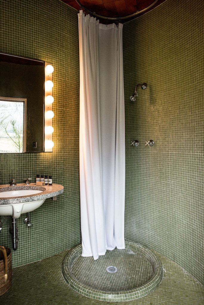 Here S Looking Through You Kid Glass House Restroom Remodel Philip Johnson