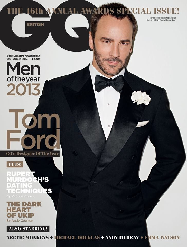 Tom Ford. Quick tip for guys: everything he wears, is the right choice.