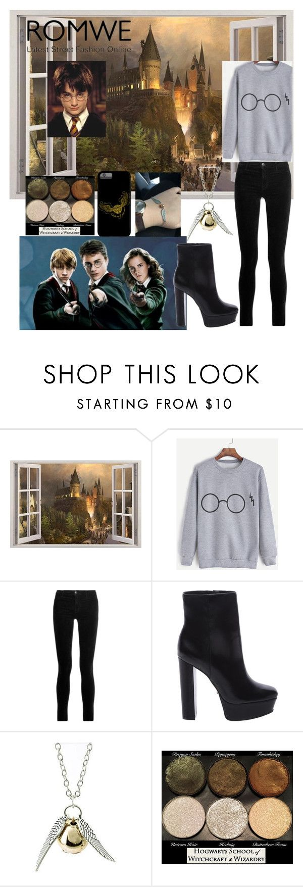 """""""Harry Potter"""" by manoorty123 ❤ liked on Polyvore featuring J Brand, Schutz and Quiksilver"""