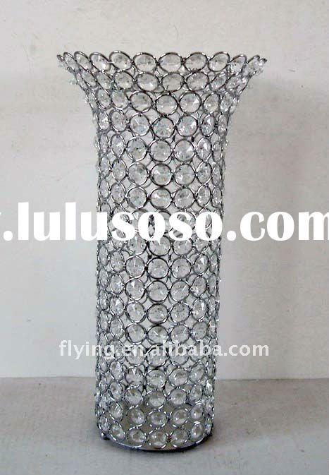 Vase Centerpieces For Wedding Bling Vase Bling Centerpiece Vase