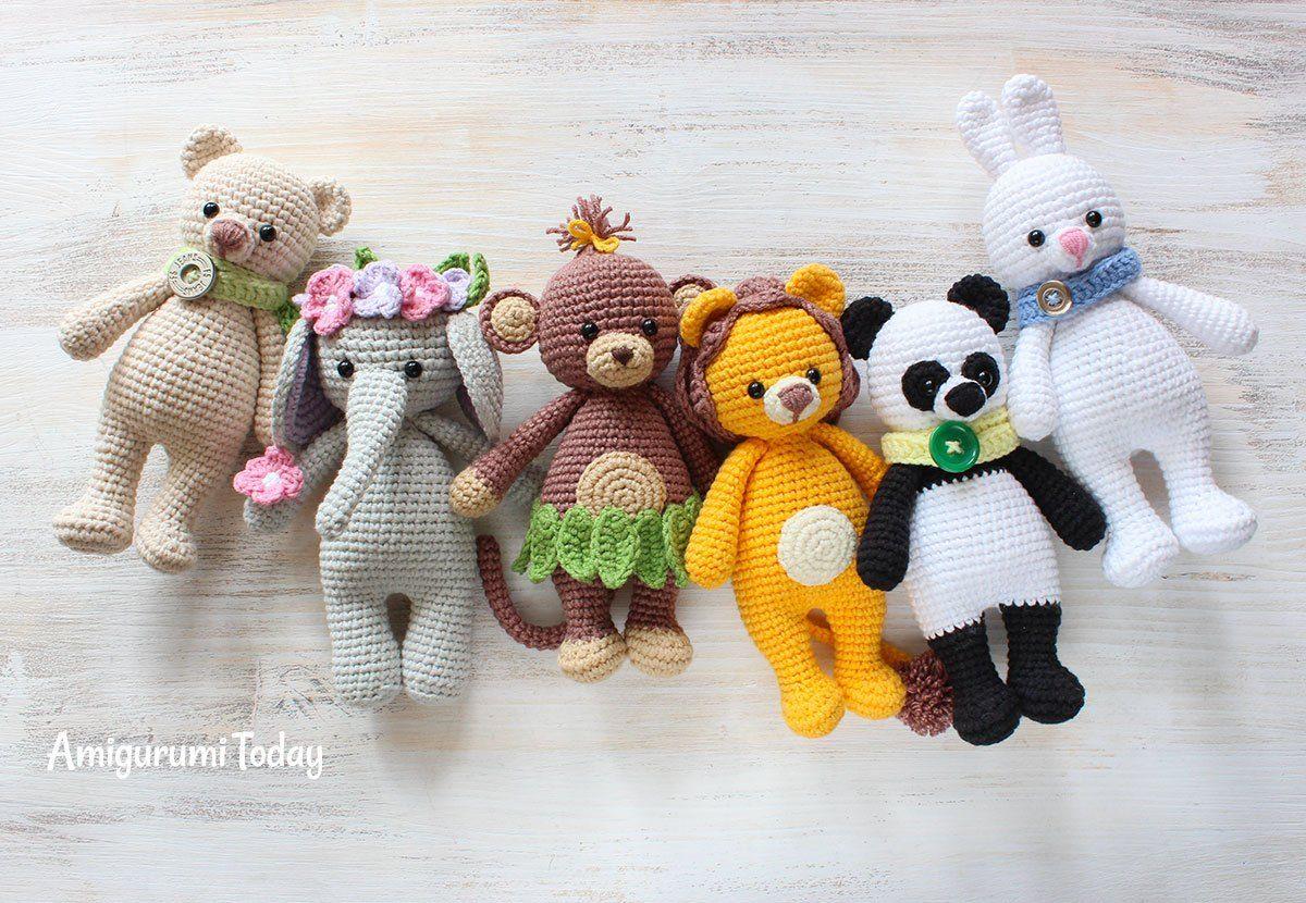 Kuschel mich Spielzeug - Kostenlose Häkelanleitungen | Kuscheltiere ...