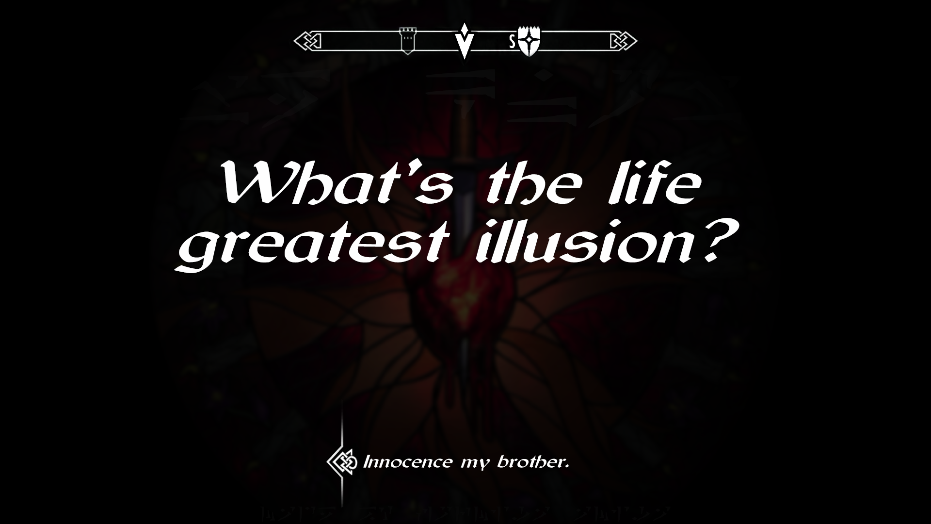 Dark Brotherhood Wallpaper Created By Myself Enjoy It
