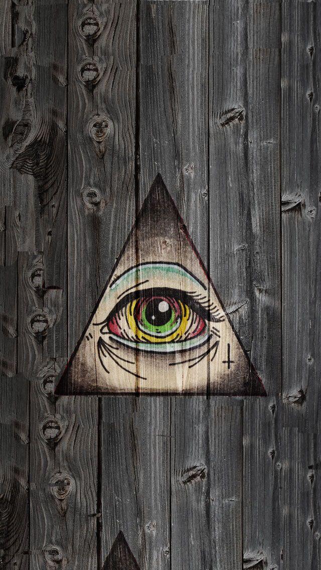 Illuminati logo wallpaper iphone