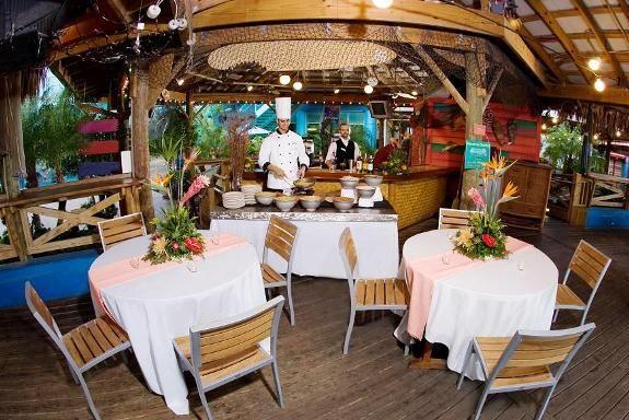 Florida Beach Wedding With Aquarium Reception: Tampa Wedding Locations