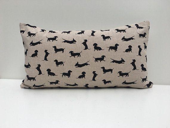 Dachshund cushion cover Dog cushions, Dachshund, Cushions