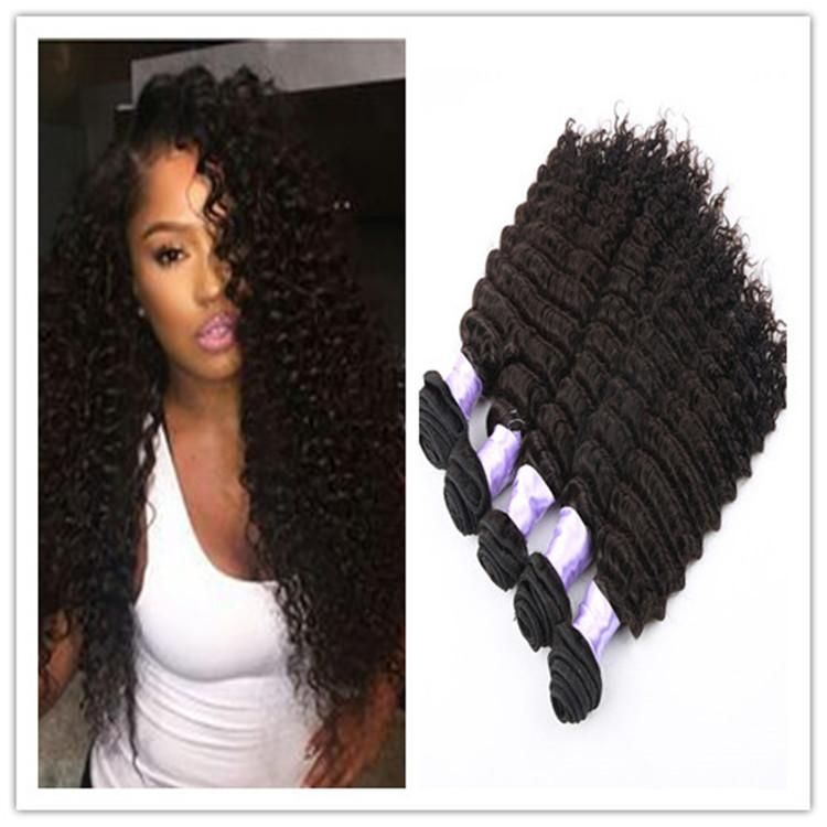 2015 New Deep Curly Weave Virgin Peruvian Virgin Human Hair Weft 3 Bundles,1b#,8 34inch In Stock No Shedding No Tangle Natural Curly Hair Weave Hair Weave Extensions From Noblevirginhair, $0.42| Dhgate.Com