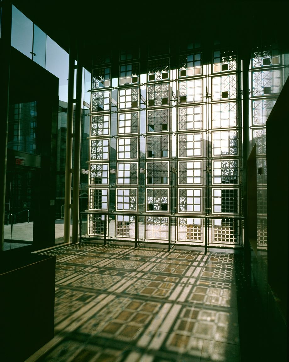 Stamford Courthouse architectural glass Glass wall