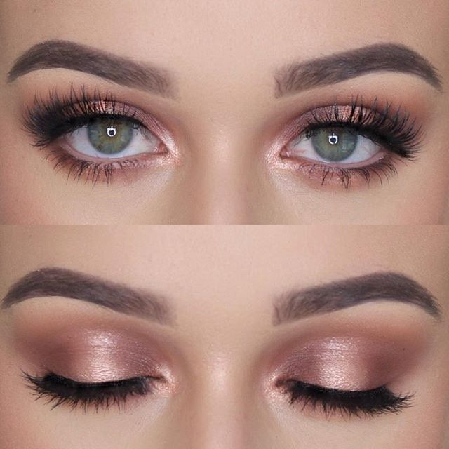 Soft Glam @makeup_char_ BROWS: Brauenpuder EYES: #ABHshadows in Fawn, Red Eart ... - #ABHshadows #Brauenpuder #BROWS #Eart #Eyes #Fawn #glam #makeupchar #red #Soft #makeupprom