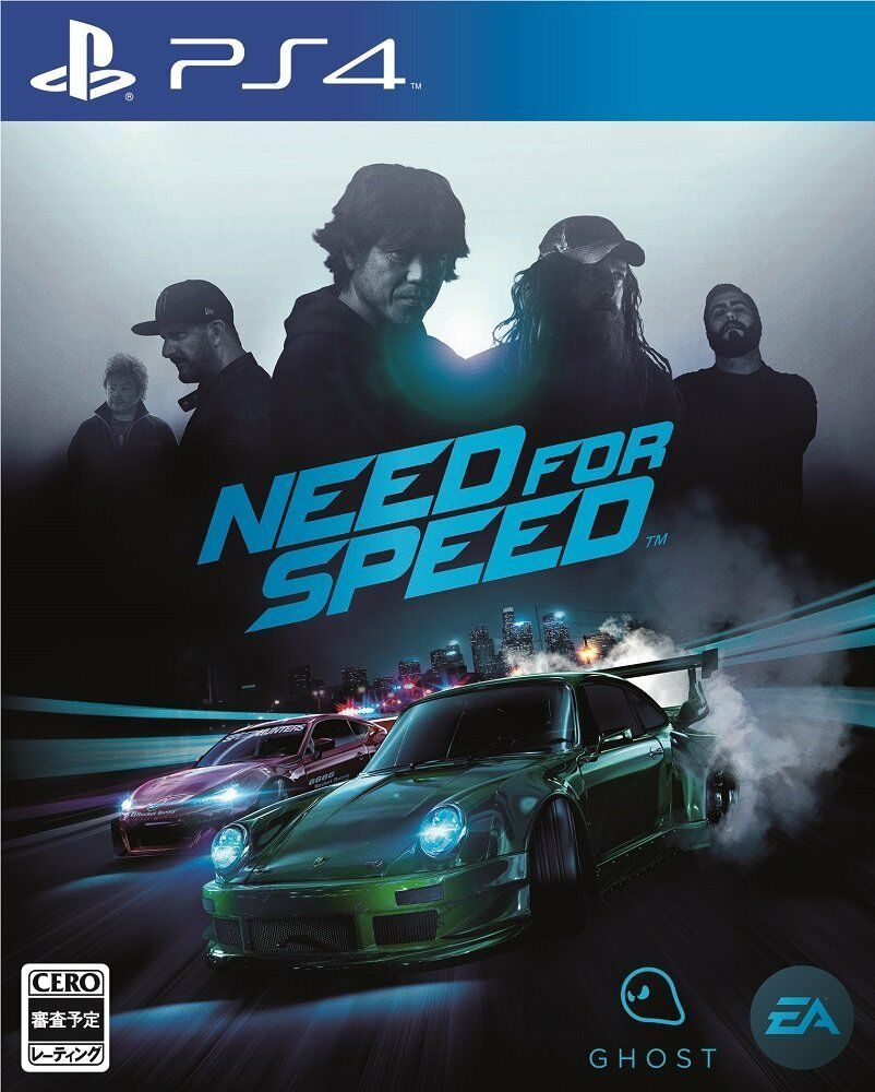 USED PS4 Need for Speed Japanese ver  Japan Import F/S #ps4