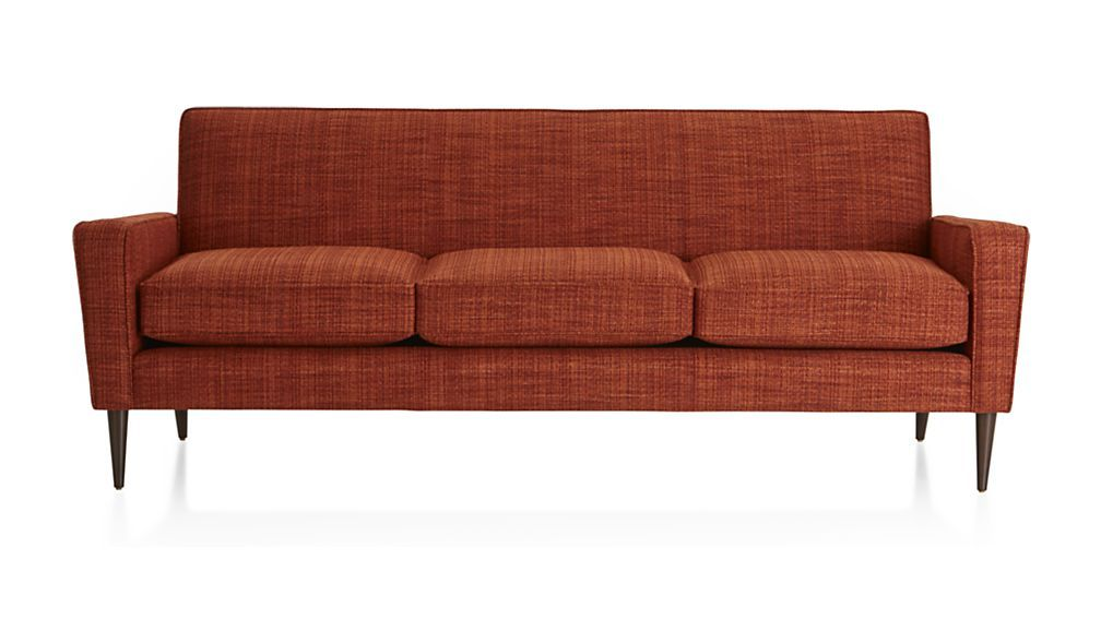 Torino Teal Sofa Reviews Crate And