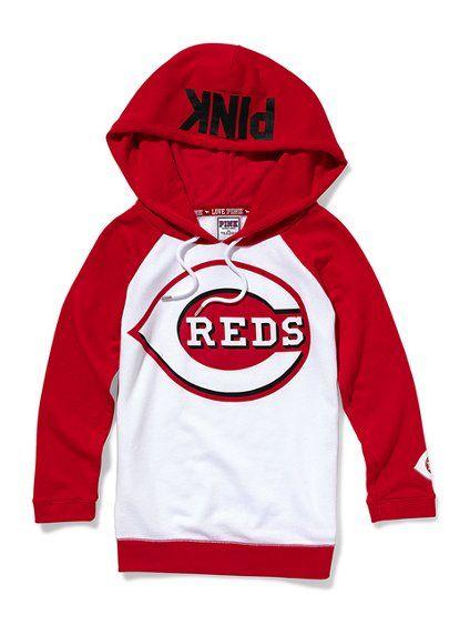87284f5bb6a38 Cincinnati Reds Baseball Hoodie - Victoria's Secret Pink ...