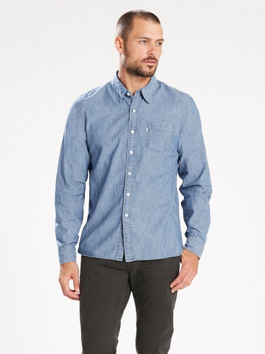 eff0ef5fd02982 Sunset One Pocket Shirt | Products | Shirts, Denim shirt, Shirt shop