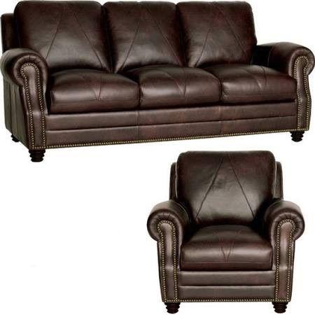 Luke Leather Solomon 2 Piece Sofa Set Luk Sc