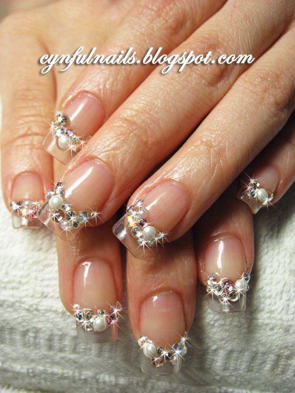 Wedding 3d Nail Art Nail Art Community Pins Pinterest 3d