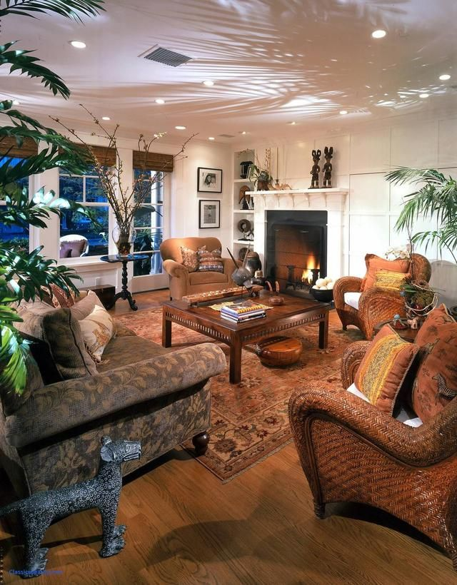 african style in the interior and its features  african