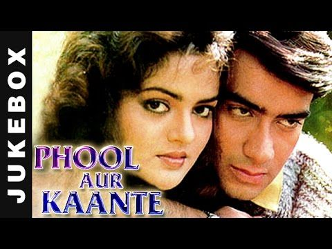 Phool Aur Kaante Video Song Jukebox Ajay Devgan Madhoo Hd