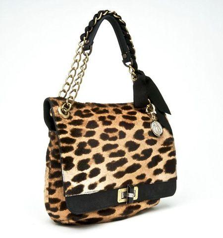 Leopard Print Lanvin Bag