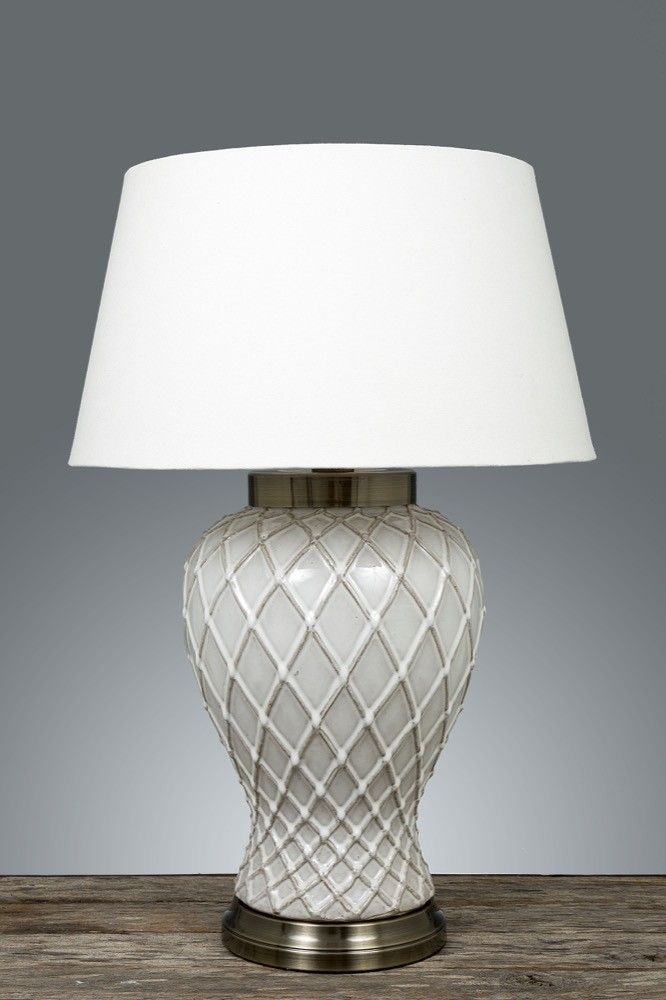 Charming Berkley Vase Table Lamp Base W/ Metal Base   TABLE LAMPS   Emac U0026 Lawton