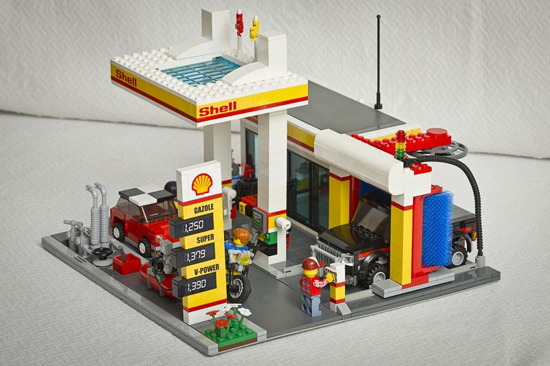 station service shell lego pinterest lego lego house and lego city police. Black Bedroom Furniture Sets. Home Design Ideas