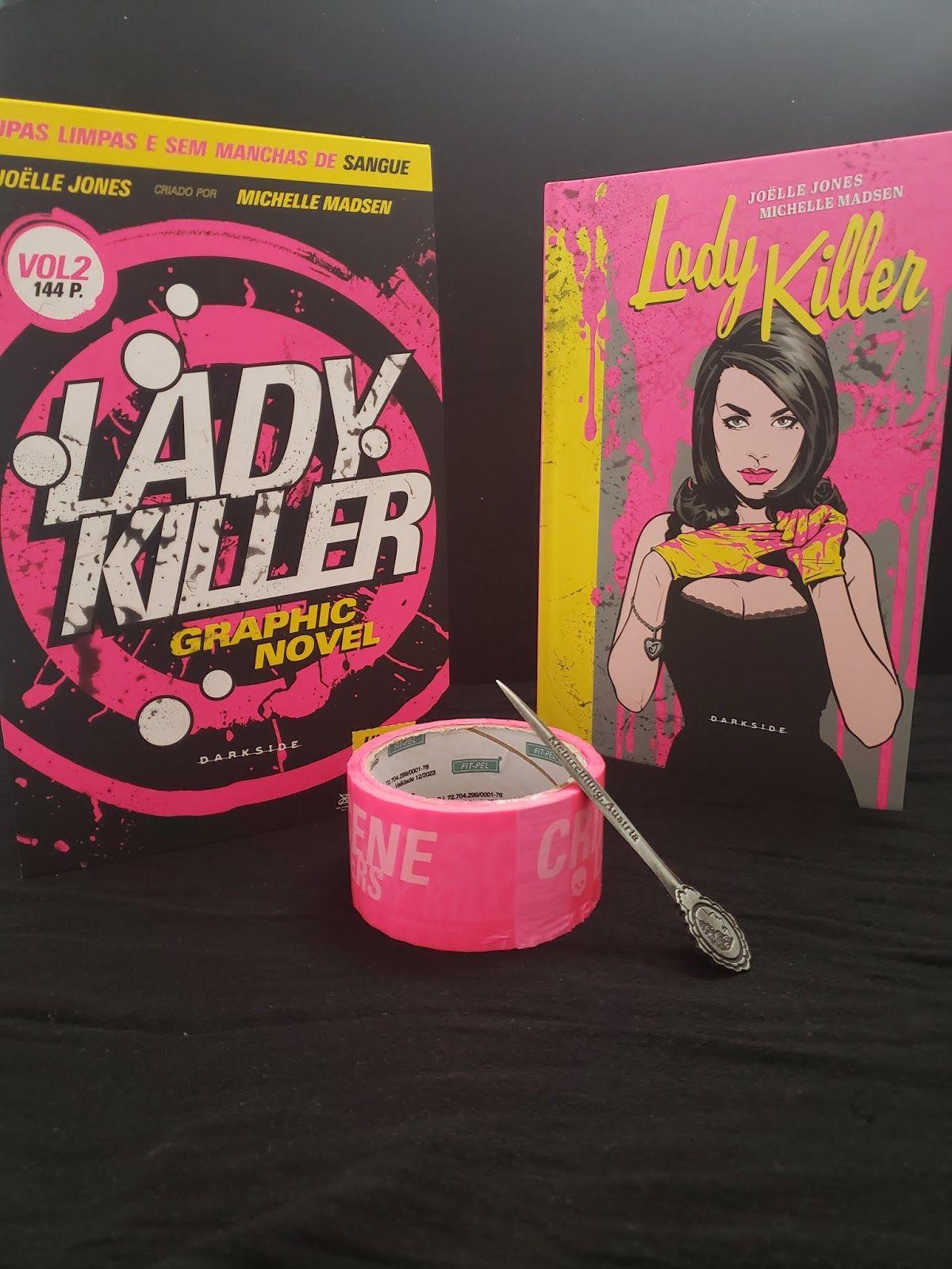 Embarcando na Leitura   Blog: {Resenha} Lady Killer - #2
