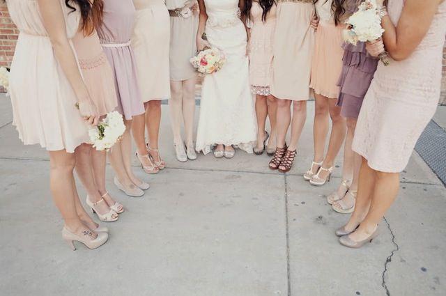 Romantic Blush Pink Peach Wedding