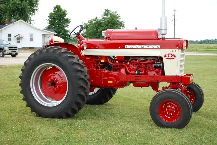 FARMALL 560 LP Farmall Tractors Old International Harvester Ih Farmer