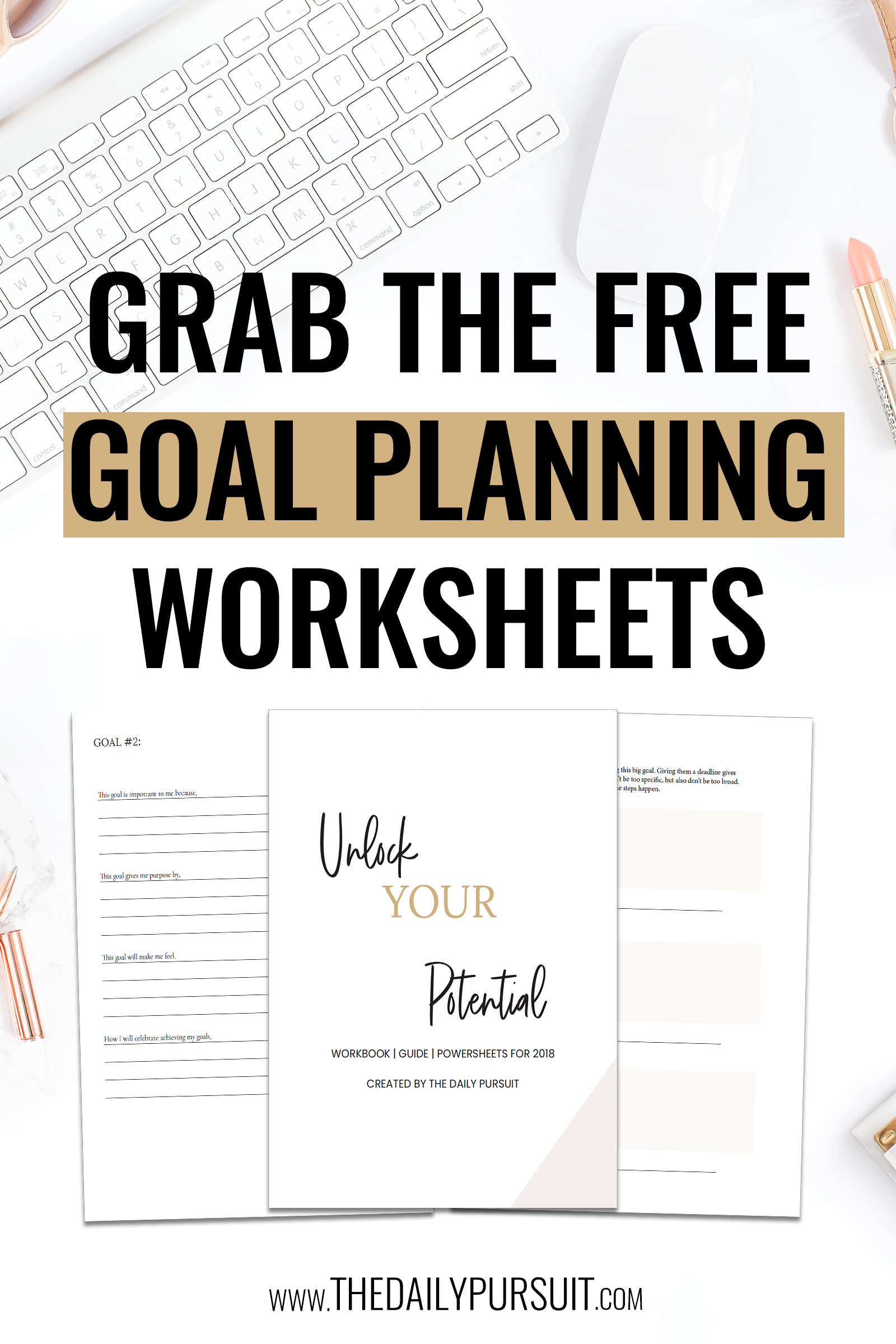 Goal Planning And Quarterly Planning Sheets