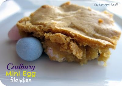 Cadbury Mini Eggs Blondies